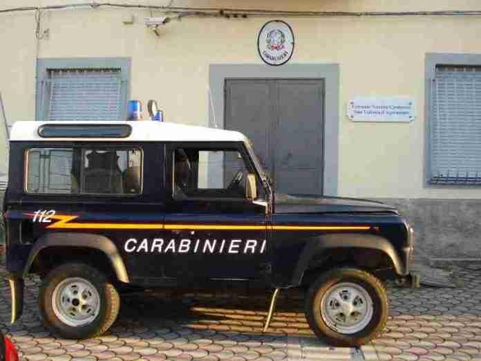 La stazione dei carabinieri di Sant'Eufemia