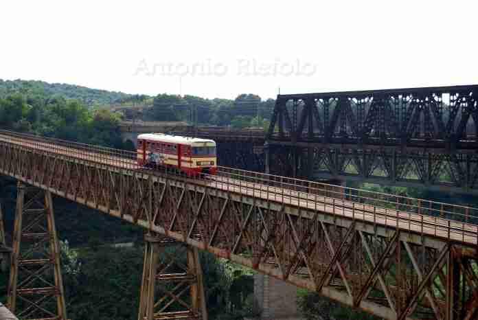 Sul ponte Petrace - foto di Antonio Riefolo
