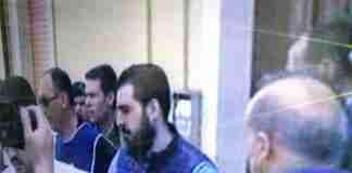 Napoli al momento dell'arresto