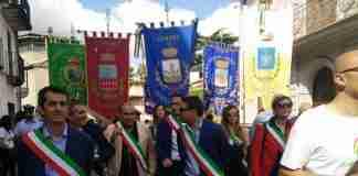 I sindaci alla marcia della pace di Cinquefrondi