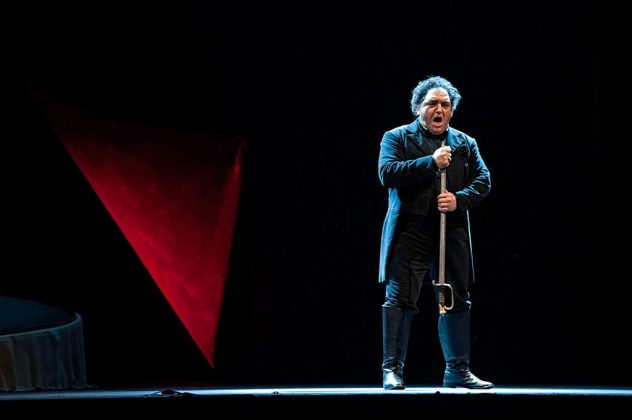 Francesco Anile in scena