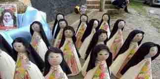 La processione di Santa teresa di Lisieux