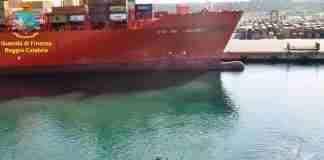 "La portacontainer ""Rio de Janeiro"""