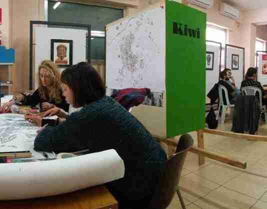 uno dei workshop di kiwi