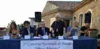da sinistra Bagalà, Falcomatà, Alessio, il vescovo Milito e Roselli