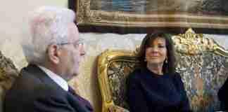 Sergio Mattarella ed Elisabetta Alberti Casellati