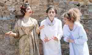 Tre civette sul comò (Annalisa Schiavone, Caterina Filardo e Domiziana Sapone)
