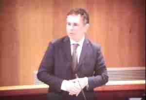 Il primo intervento in consiglio regionale di Giuseppe Pedà