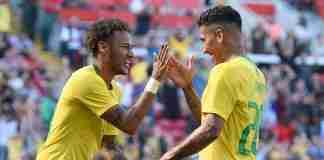 Neymar Jr e Firmino
