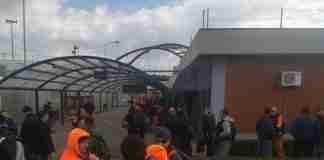 Lo sciopero dei portuali