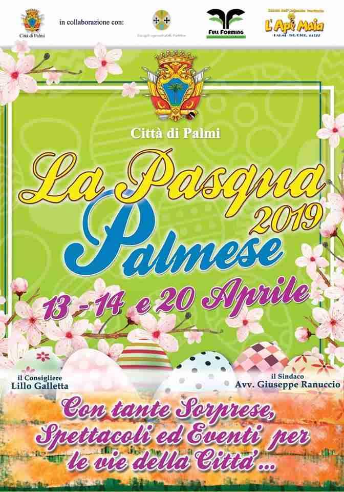 Presentata a palazzo San Nicola la Pasqua palmese 2019
