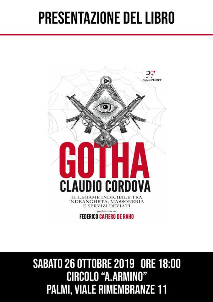 "'Ndrangheta e massoneria: a Palmi ""Gotha"" di Claudio Cordova"