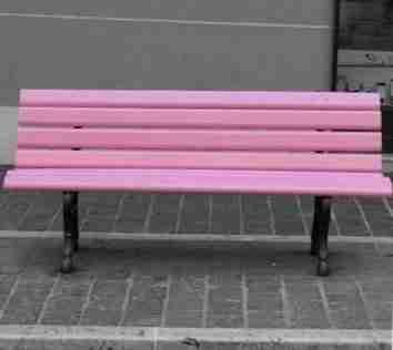 Gioia: La prima panchina rosa dedicata a tutte le donne