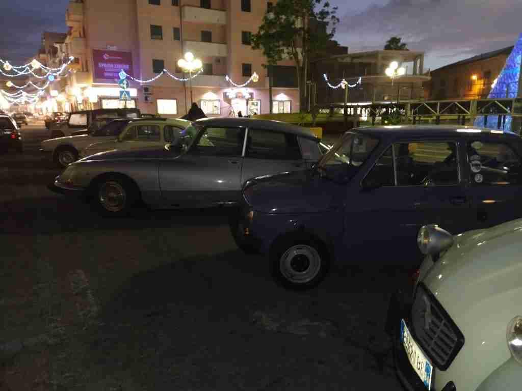 Auto d'epoca a Gioia Tauro
